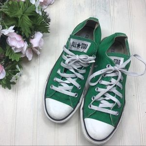 Converse Low Top Green Sneakers